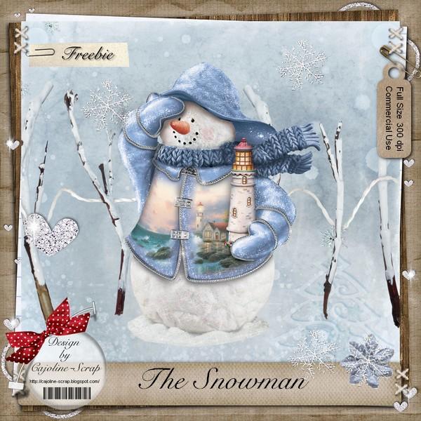 THE SNOWMAN - CU Cajoline_snowman_pv