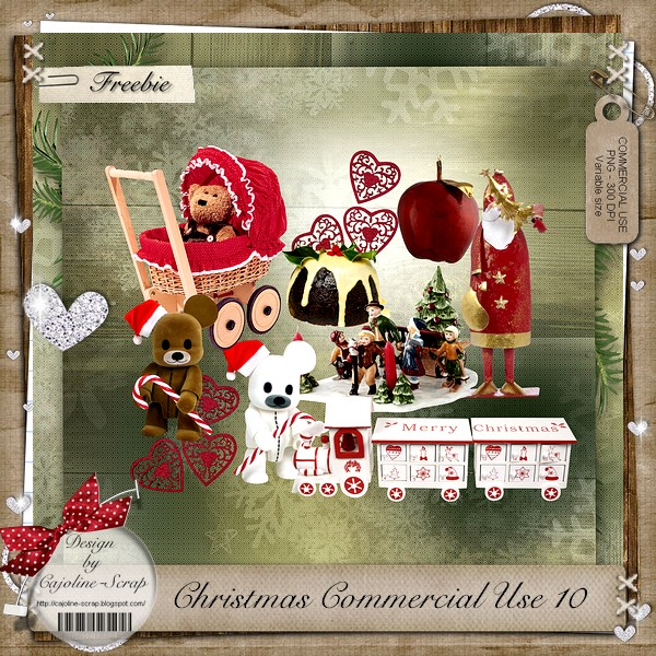 CHRISTMAS CU 10 Eléments Cajoline_christmasCU10_pv