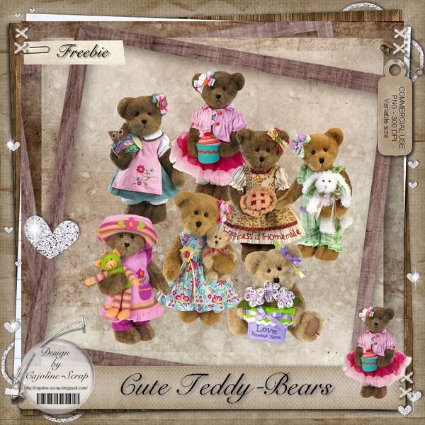 CUTE TEDDY BEARS - CU Caoline_cuteteddybears_cu