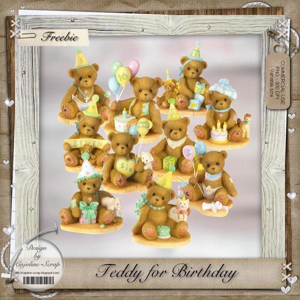 TEDDY FOR BIRTHDAY - CU Cajoline_teddybirthday_pv