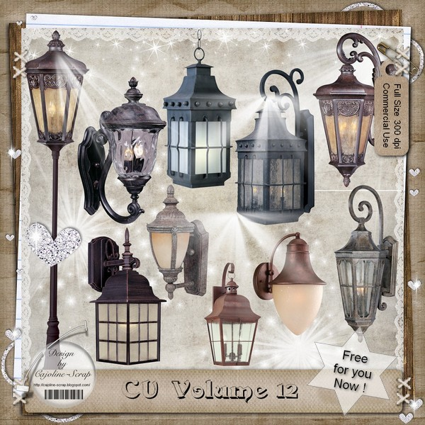 CU 12 - Embellissements - FREE for you NOW ! CU12