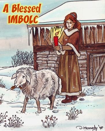 Le Sabbat d'Imbolc Imbolc