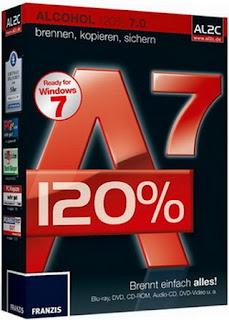 برنامج نسخ الاقراص بكافة انواعها Alcohol 120% 7.0 + Serial Fx9t9c