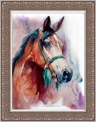 لكل يوم لوحة فنية - صفحة 14 Horse2