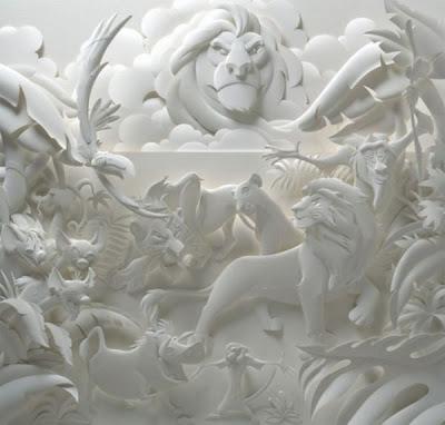 பேப்பரில் இப்படியும் செய்ய முடியுமா ? Paper-sculptures-03