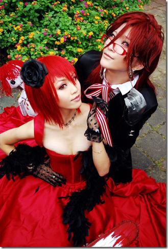 Kuroshitsuji Kuroshitsuji_-_madam_red_and_gurell_sutcliff