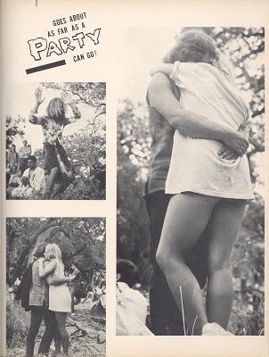 Article de Paris Match sur les hippies (Katmandou, Goa, Kaboul) 07