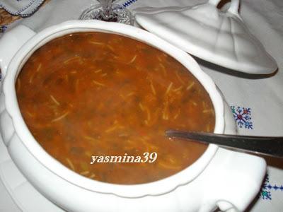 Harira - Soupe marocaine /  Soupe nationale au Maroc Ramadan1