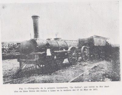 El paso del tiempo Primer-tren