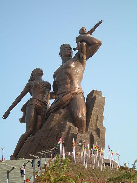 Los pueblos africanos requieren a Corea Popular para que les construyan sus monumentos 450px-Africanrenaissance