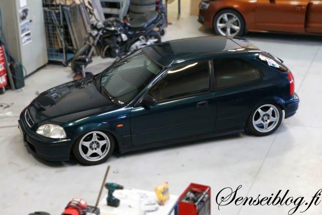 sensei garage Honda1