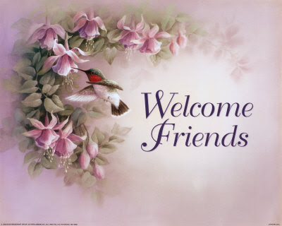 Welcome All New Members! Welcome