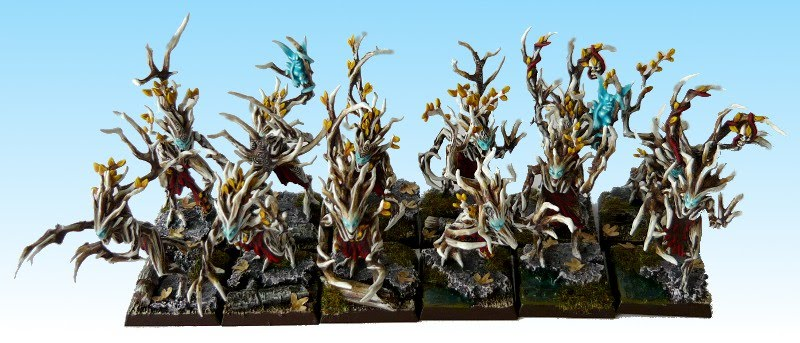 elves - Skavenblight's Wood Elves Driady4