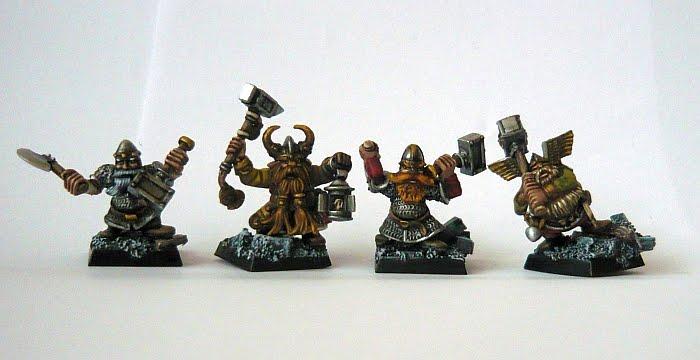 Skavenblight's painting dwarfs... again! Da1