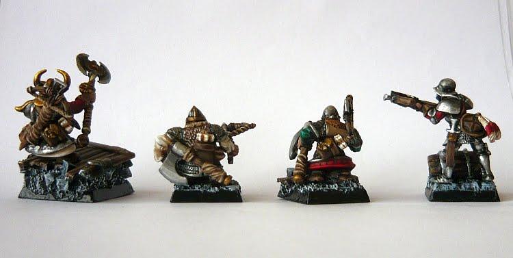 Skavenblight's painting dwarfs... again! Do3