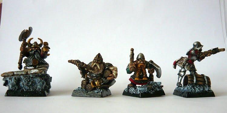 Skavenblight's painting dwarfs... again! Do1