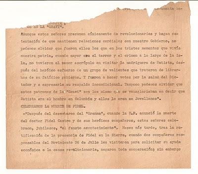 La mano de Fidel (Un pedacito de Historia) UpdH2