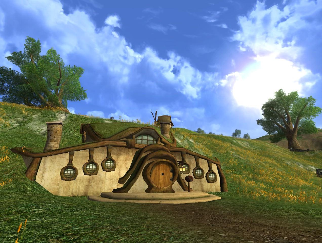 Village hobbit  - Page 2 Hobbit-house1