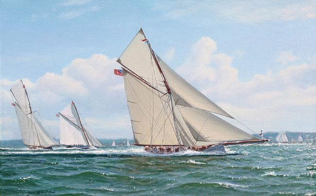 Puritan, sloop de 1885 Puritan5