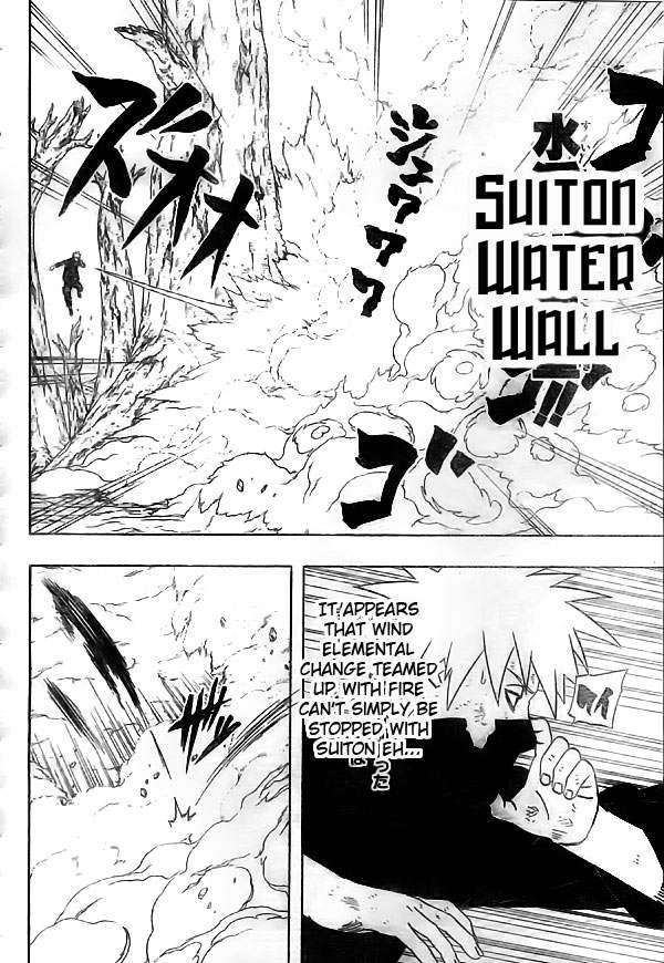 Qual é o resultado da combinação de duas kekkei genkai do tipo elemental?  Naruto-012