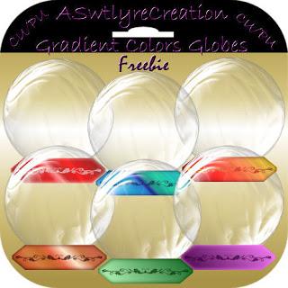 CU Freebie Globes Gradientglobes