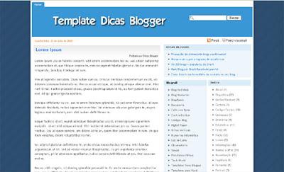 125 excelentes templates para Blogger Dicas-blogger