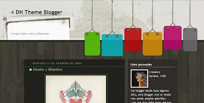 125 excelentes templates para Blogger Dh