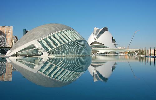 Moderna arhitektura CalatravaCiutadValencia