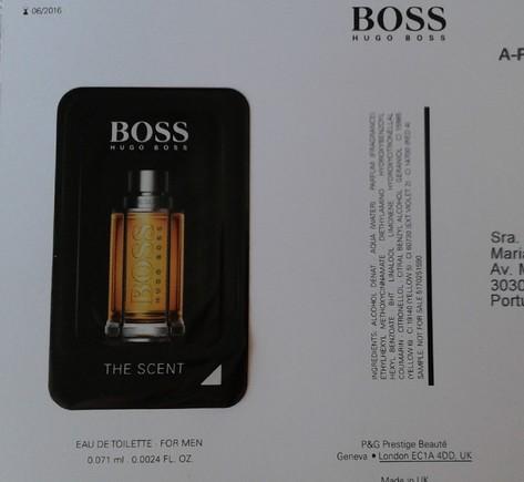 Amostra perfume homem -Hugo BossThe Scent 18923076_jpaA6