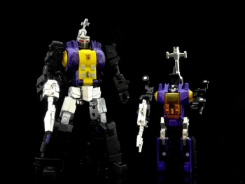 [Fanstoys] Produit Tiers - Jouet FT-12 Grenadier / FT-13 Mercenary / FT-14 Forager - aka Insecticons - Page 2 EGauydyu