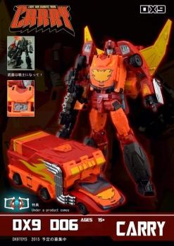 [DX9 Toys] Produit Tiers - Jouet D-06 Carry aka Rodimus et D-06T Terror aka Black Rodimus BvcN6CiP