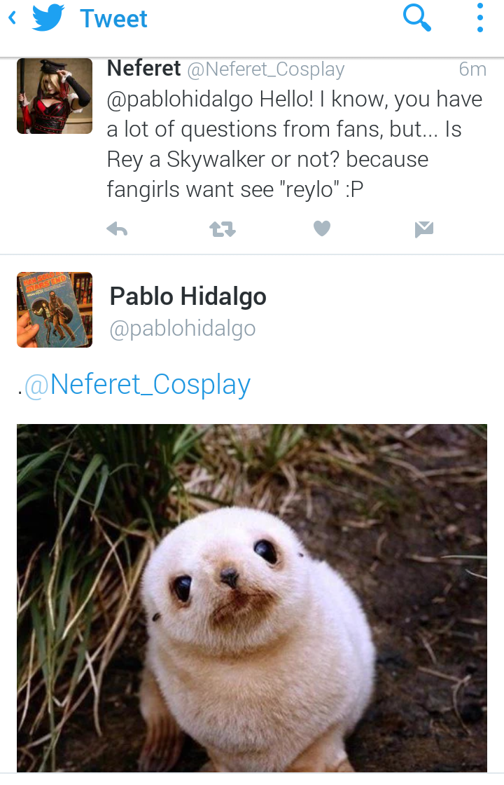 [ARCHIVE] SW Sequel Trilogy Tweets  - Page 2 Tumblr_o6blhf2nup1v5a3o0o1_1280
