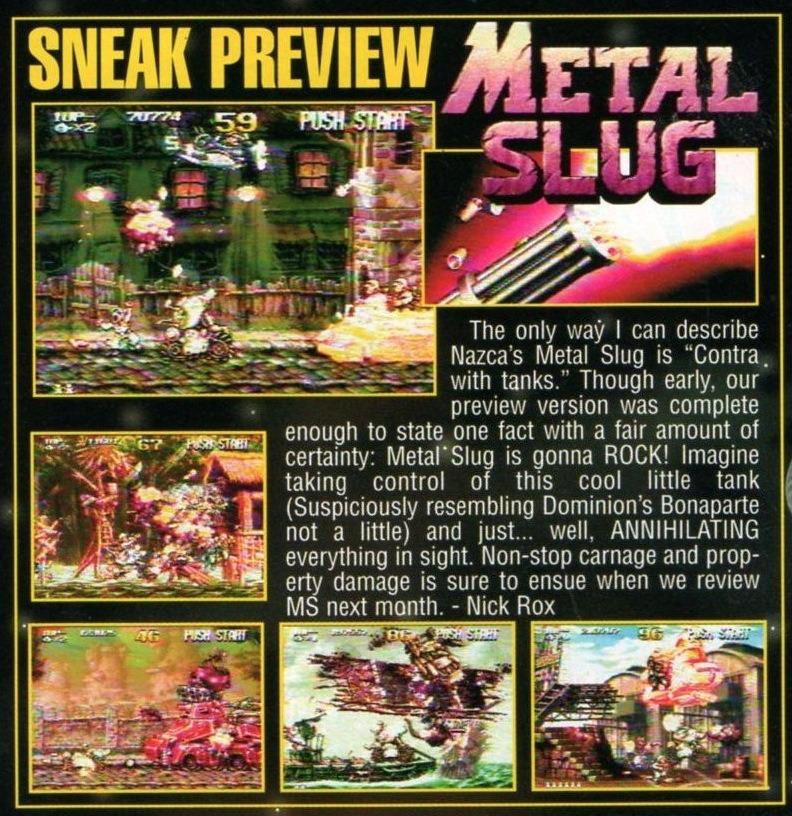 20ème Anniversaire de Metal Slug : Galerie de visuels (AJOUT !) Tumblr_o4evblwZQQ1ulp8mfo6_1280
