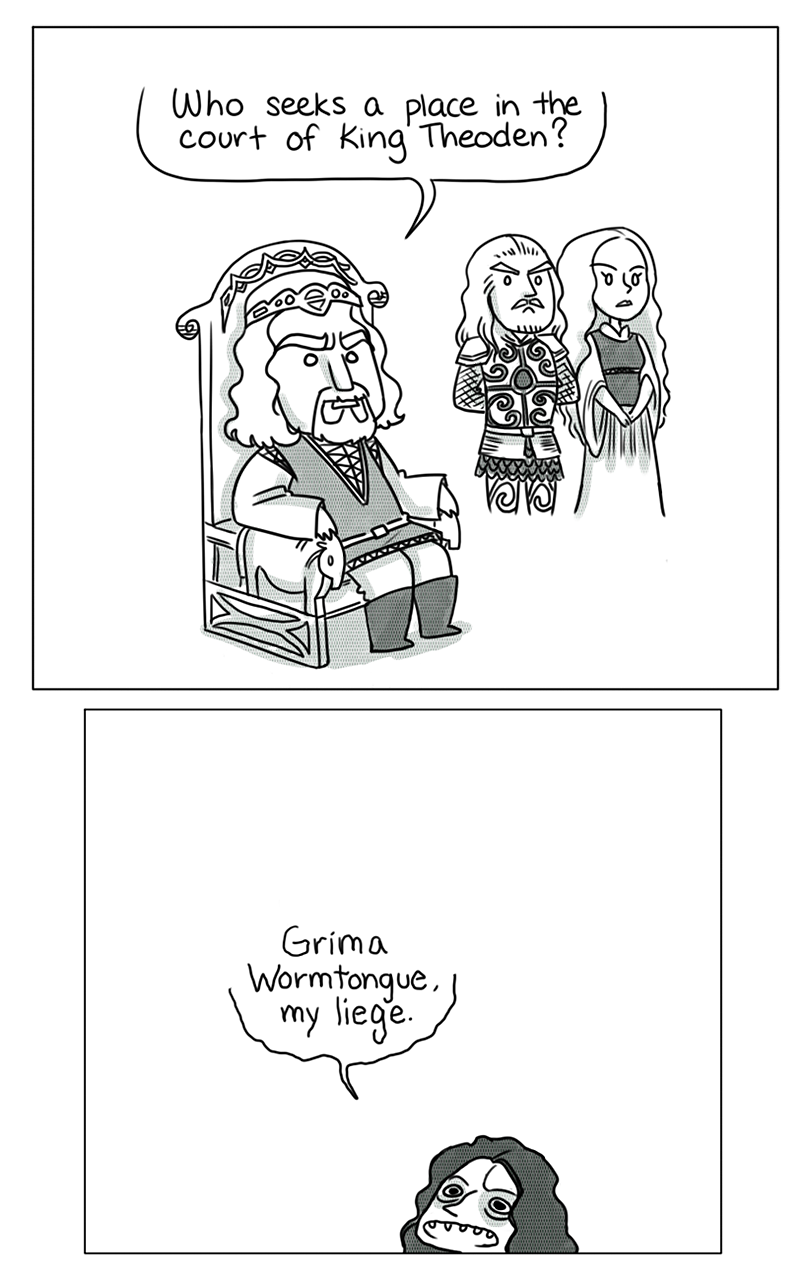 Lord of the Rings Humour: Parodies, Satires and More [3] - Page 40 Tumblr_nj01h9jEbP1tfju21o1_1280