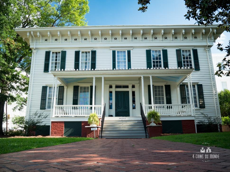 Choisisez votre maison préférée - Page 34 La-premiere-Maison-Blanche-des-etats-Confederes-Montgomery-Alabama