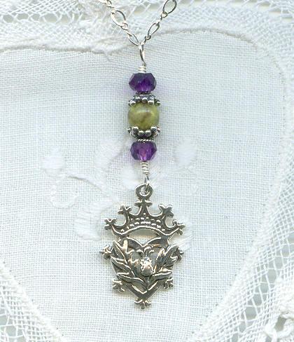 Брошь Лакенбут - символ любви и преданности 307578