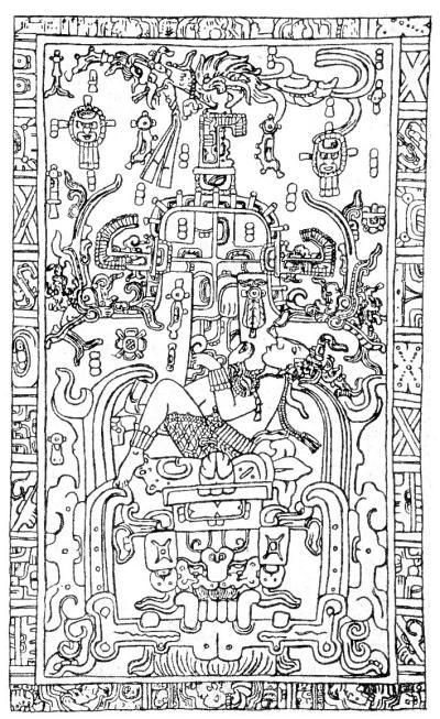 Гробница Пакаля в Храме Надписей в Паленке 358340