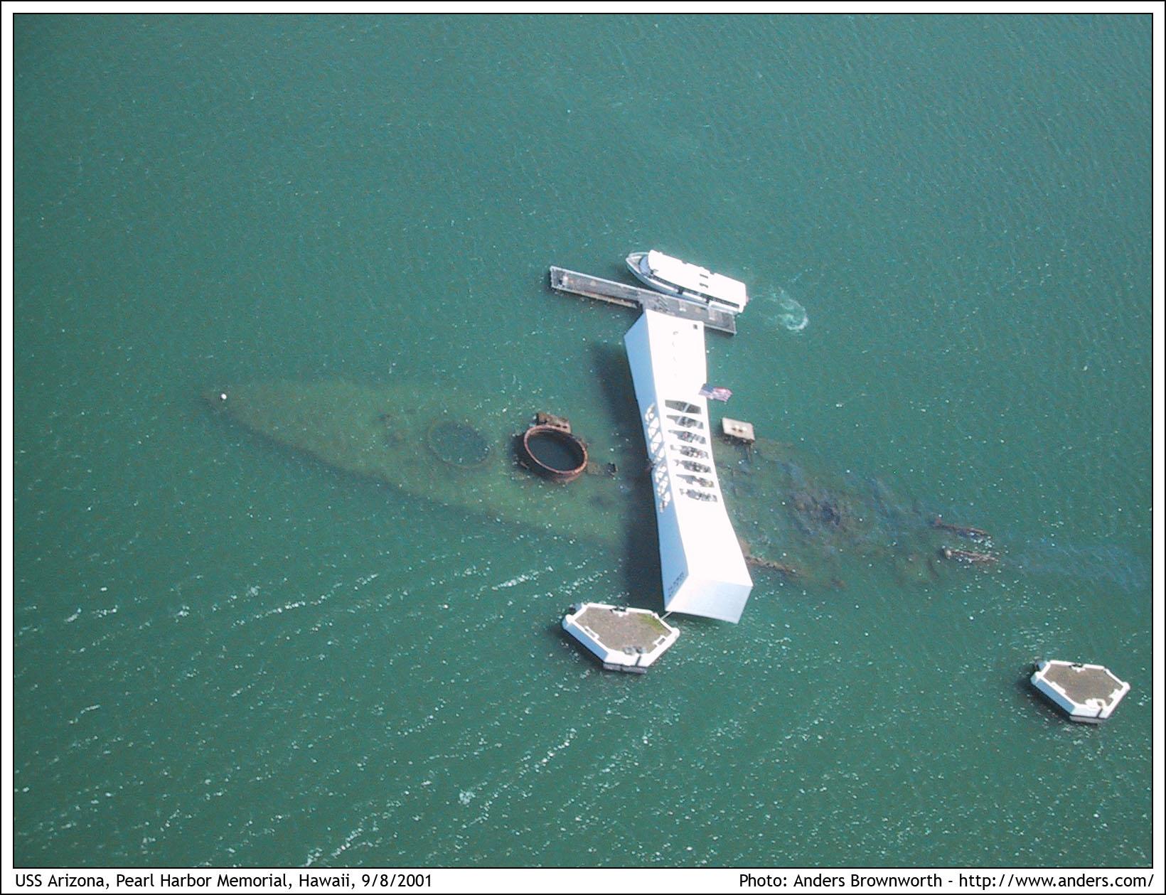 أسلحة صنعت الحدث 24-pearl-harbor-memorial-hawaii-9-8-2001