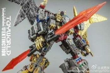 [Toyworld][Zeta Toys] Produit Tiers - Jouet TW-D aka Combiner Dinobots - Page 3 XLecFMuF