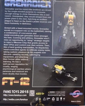 [Fanstoys] Produit Tiers - Jouet FT-12 Grenadier / FT-13 Mercenary / FT-14 Forager - aka Insecticons - Page 2 Fp9oDnTn