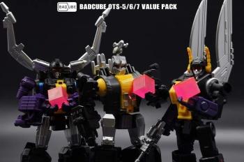 [BadCube] Produit Tiers - Jouet OTS-05 Claymore / OTS-06 Hypno / OTS-07 Kickbutt - aka Insecticons OndzMxep