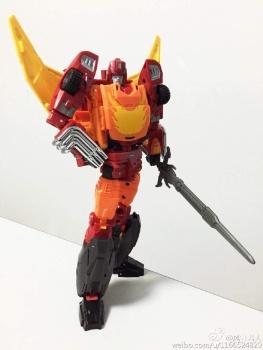 [DX9 Toys] Produit Tiers - Jouet D-06 Carry aka Rodimus et D-06T Terror aka Black Rodimus - Page 2 OxO2UCO4