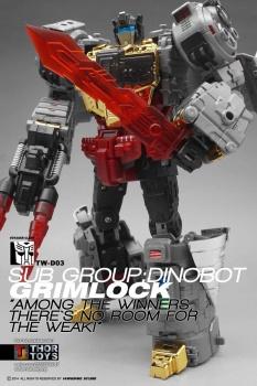 [Toyworld][Zeta Toys] Produit Tiers - Jouet TW-D aka Combiner Dinobots - Page 2 Qry3xHkB