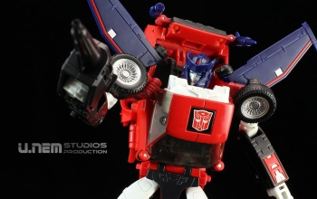[Masterpiece] MP-25L LoudPedal (Noir) + MP-26 Road Rage (Rouge) ― aka Tracks/Le Sillage Diaclone - Page 2 YwiPUCoE