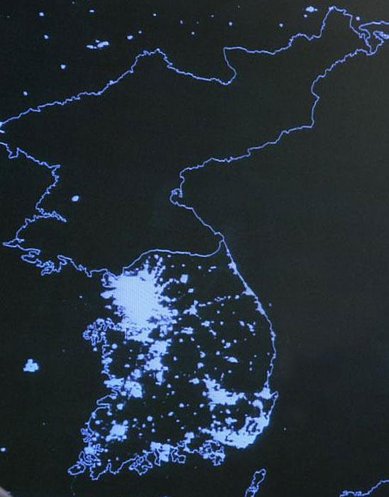 Corée du nord : La nuit 1207koreaelectricitygrikf0