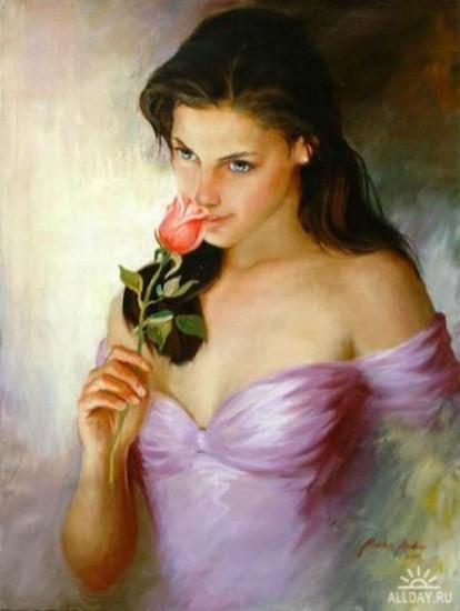 Bota e Femres Art-oil-paint-girls-oil-paintings-woman-in-art_large1