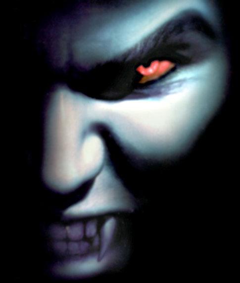 Regarde une feuille de personnage Vampires