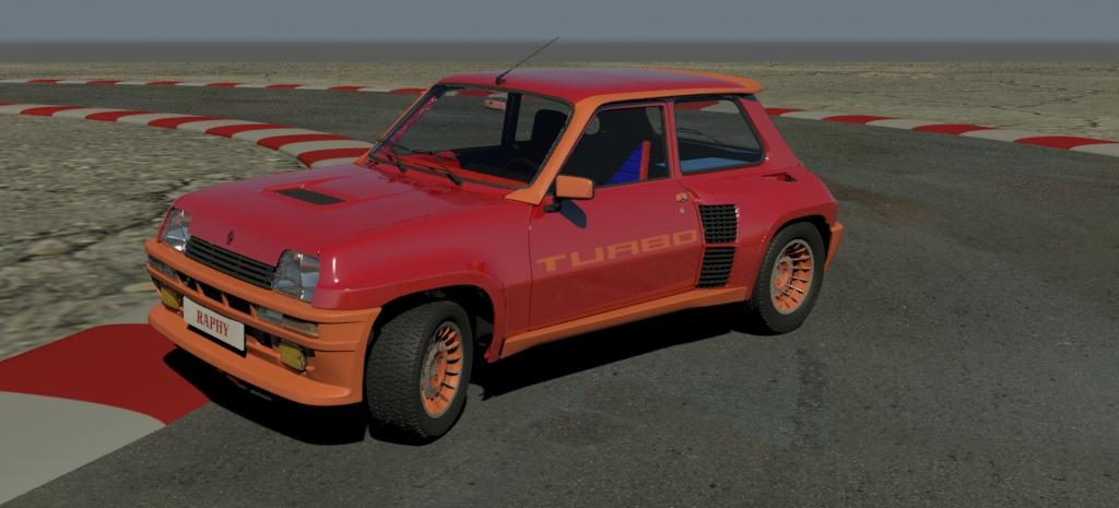 Raphy [95] , Bonjour les 5istes  - Page 11 R5-turbo-madcar-001(3D)