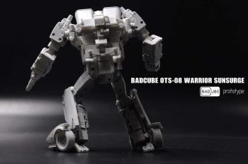 [BadCube] Produit Tiers - OTS-08 Sunsurge (aka Sunstreaker/Solo G1) + OTS-Special 01 Blaze (aka Sunstreaker/Solo Diaclone) JVokiADB
