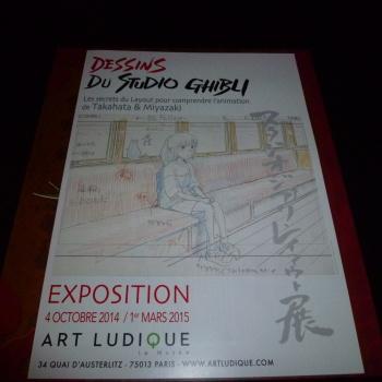Ghibli s'invite dans la Galerie Art Ludique YQMHdwrS